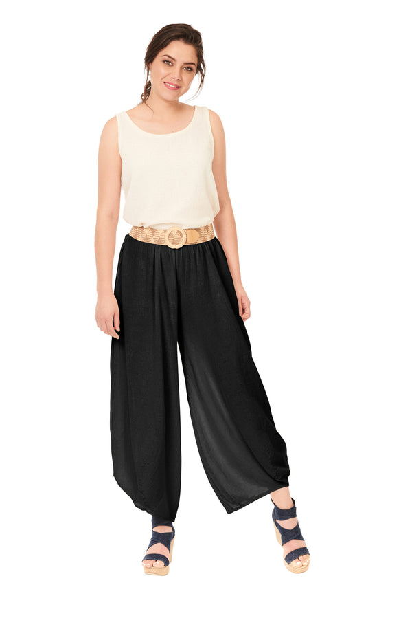 Oh My Gauze James Pant-Black