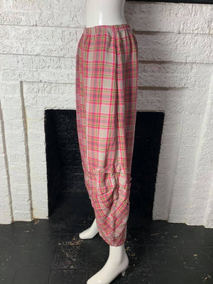 4572 Koi Plaid Linen Pant