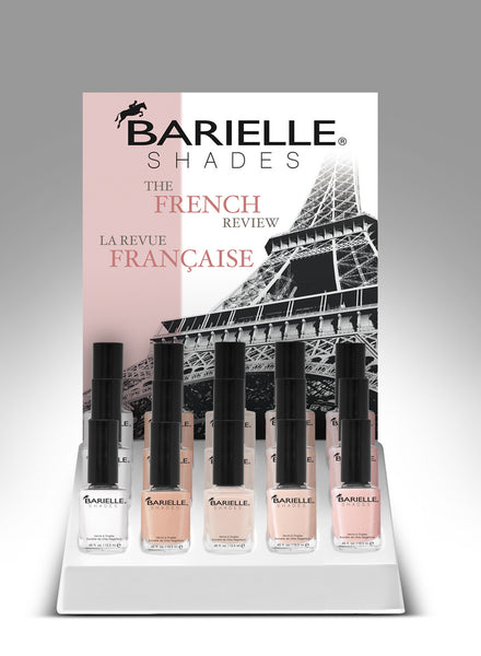 Barielle - French Review Display