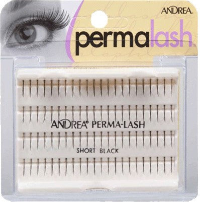 Andrea Individual Lashes - Regular Short Black