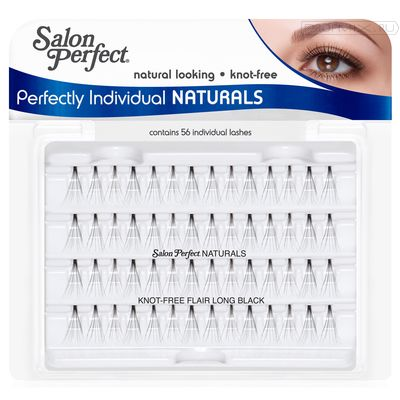SP Individual Lash Knot Free Long Black