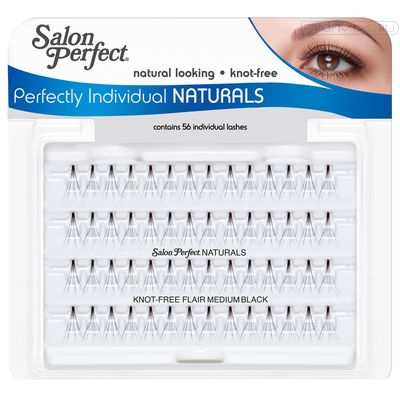 SP Individual Lash Knot Free Medium Black