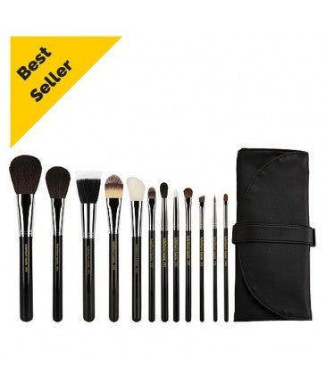 Maestro Complete 12pc. Brush Set with Roll-up Pouch