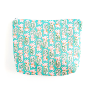 Pineapples Essentials Pouch