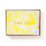 Geo Palms Airbrush Thank You Card Boxed Set
