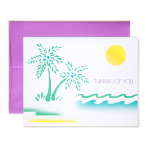 Thinking Of You Island Card