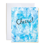 Wave Cheers Blue Card