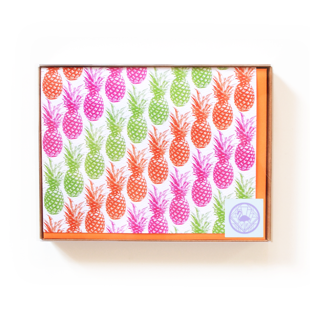 Pineapples Notecard Boxed Set