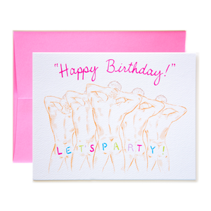 Happy Birthday!  Let's Party! Card