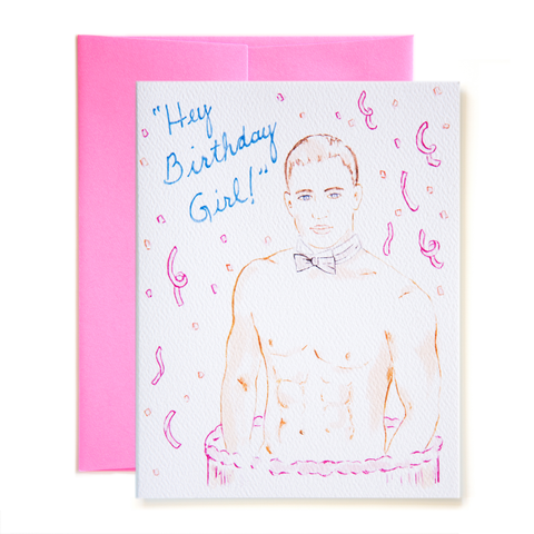 Hey Birthday Girl! Card