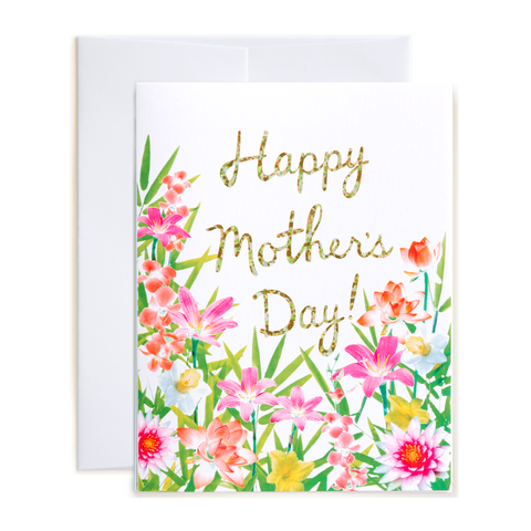 Sublime Floral Mother's Day Card