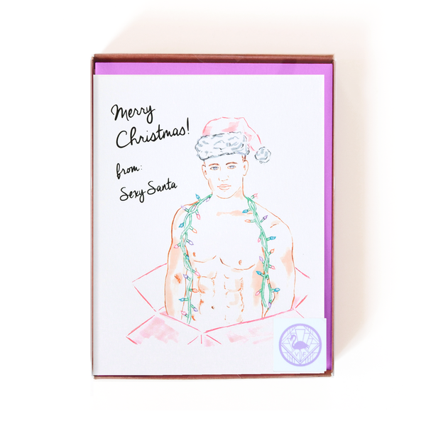 Sexy Santa Card Boxed Set