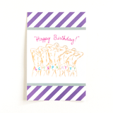 Happy Birthday Let's Party! Bottle Label- Set of 3