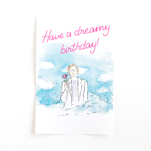 Dreamy Birthday Bottle Label- Set of 3