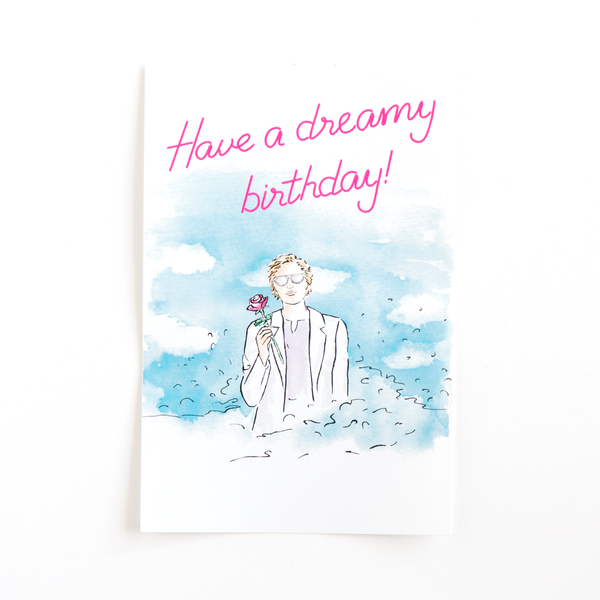 Dreamy Birthday Bottle Label