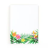 Tropical Floral notepad