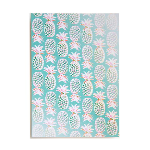 Pineapples Postcard- Set of 10