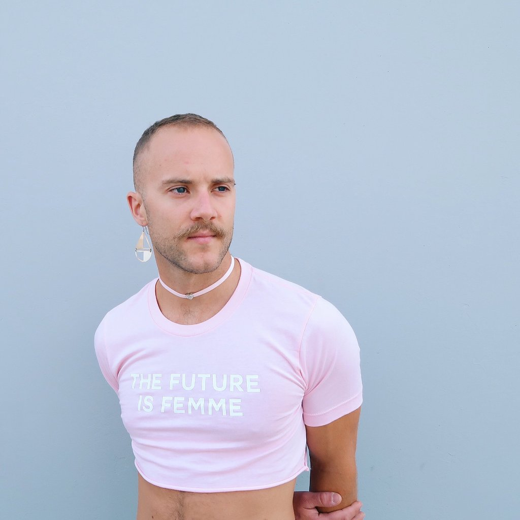 The Future Is Femme Crop Top