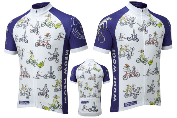 Introducing the Battersea Dogs   Cats Home cycling jersey – Summit ... 9a4d4025b