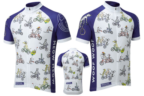 Battersea Dogs & Cats Home cycling jersey