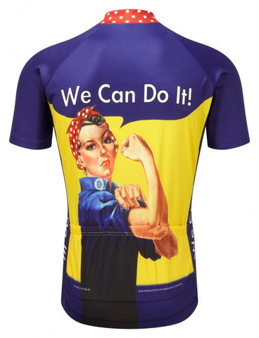 We can do it, womens cycling jersey