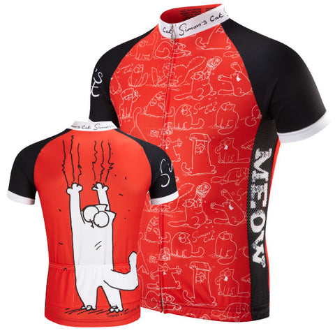 Simon's Cat Cycling Jersey