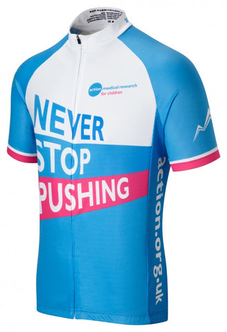Action Medical Research Cycling Jersey | Summit Different | Charity Cycle Jerseys
