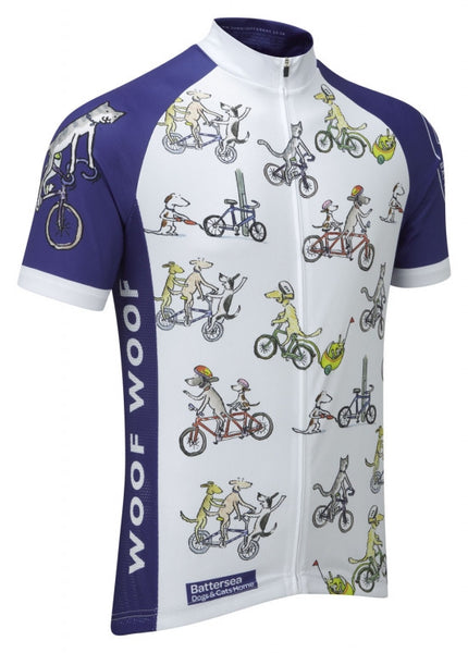 Battersea Dogs and Cats Home Cycling Jersey  e91524c34