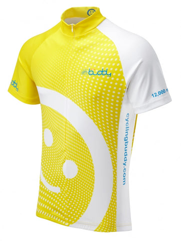 Cycling Buddy 12,000 Miles Cycling Jersey | Summit Different | Fun Cycle Jerseys