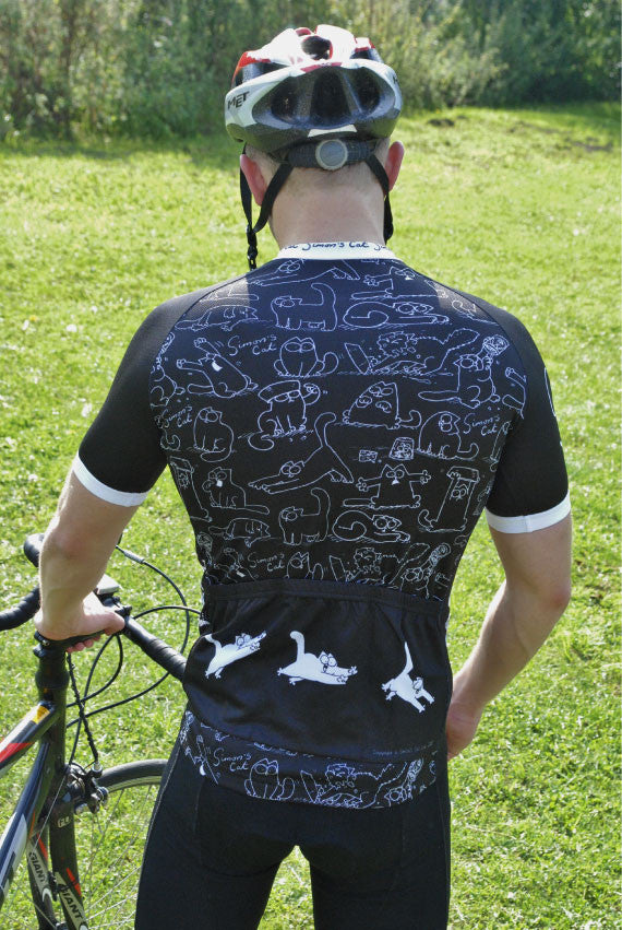 ... Simon s Cat  Looking Up  Cycling Jersey  d51bf315a