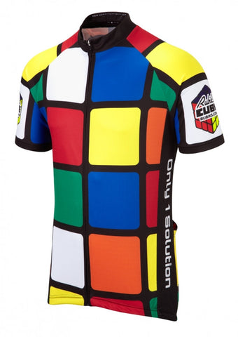 Rubik's Cube Cycling Jersey | Summit Different | Fun Cycling Jerseys