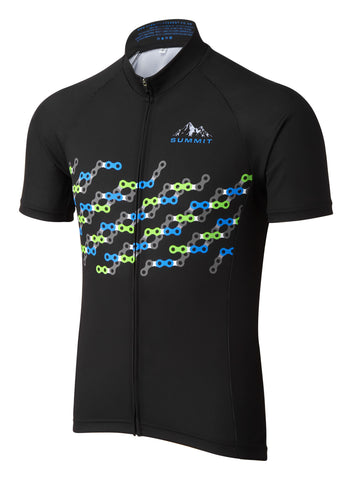 Chain Link Cycling Jersey | Summit Different