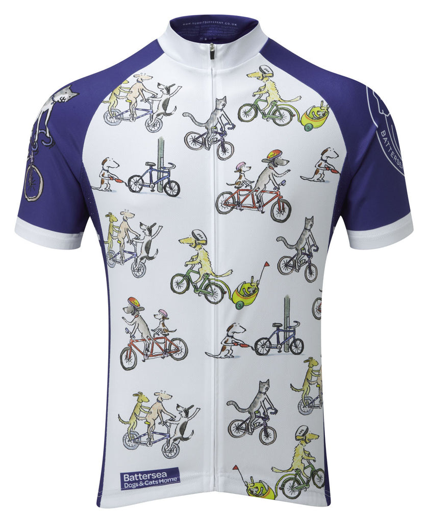 ... Battersea Dogs and Cats Home Cycling Jersey  184f6c947