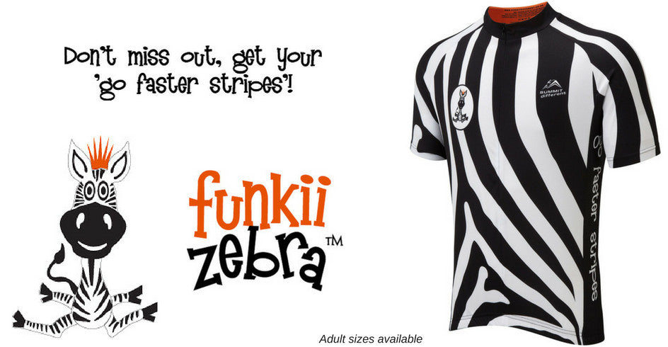 Funkii Zebra Cycle Jersey