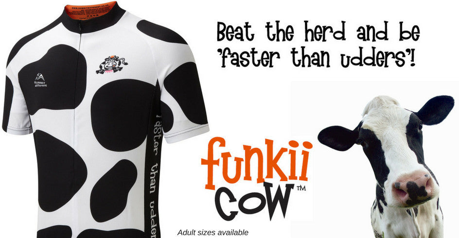 Funkii Cow Cycle Jersey