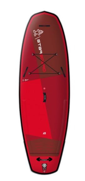 "2021 STARBOARD 9'6"" X 36"" X 6"" RIVER DELUXE SC INFLATABLE SUP BOARD"
