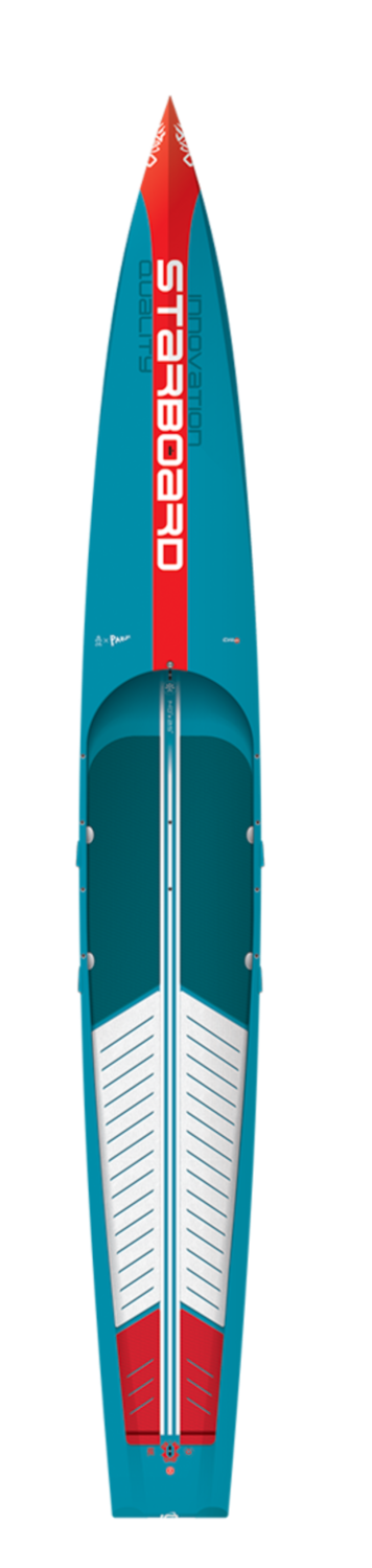 "2021 STARBOARD 14'0"" X 21.5"" SPRINT CARBON SANDWICH SUP BOARD"