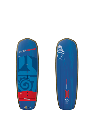 "2019 Starboard Sup Hyper Foil 7''2"" x 27.5"" BLUE CARBON SUP"