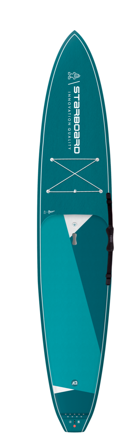 "2021 STARBOARD 12'6"" X 28"" GENERATION CARBON TOP SUP BOARD"