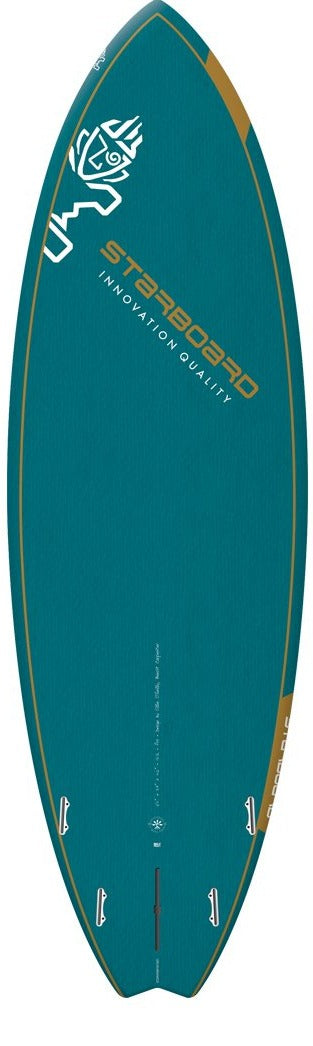 "2021 STARBOARD 7'2"" x 26.75"" BLUE CARBON PRO SUP BOARD"