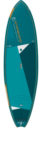 "2021 STARBOARD 6'8"" x 24"" BLUE CARBON PRO SUP BOARD"