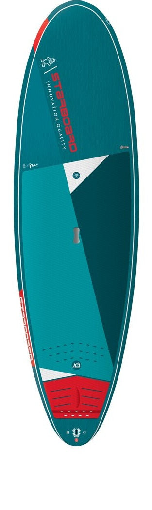"2021 STARBOARD 10'0"" X 34"" WHOPPER BLUE CARBON SUP BOARD"