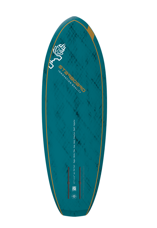 "2021 STARBOARD 5'2"" X 20.5"" FOIL SURF BLUE CARBON V.2 SUP BOARD"