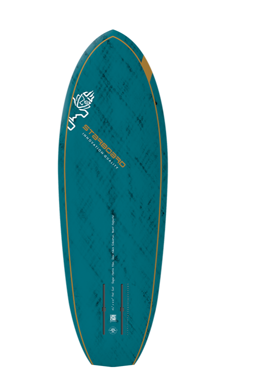 "2021 STARBOARD 5'6"" X 21.5"" FOIL SURF BLUE CARBON V.2 SUP BOARD"