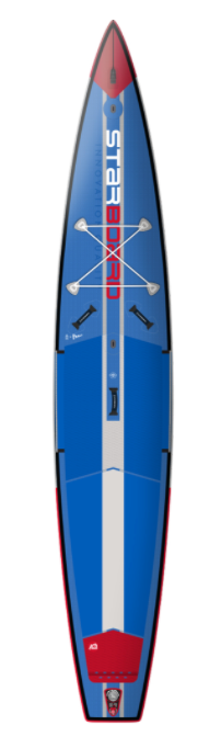"2021 STARBOARD 14'0"" X 28"" X 6"" ALL STAR AIRLINE DOWNWIND DELUXE DC INFLATABLE SUP BOARD"