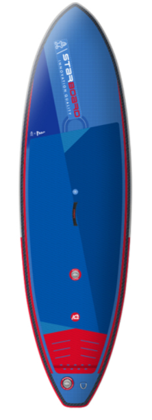 "2021 STARBOARD 9'5"" X 32"" X 4.75"" SURF DELUXE DC INFLATABLE SUP BOARD"