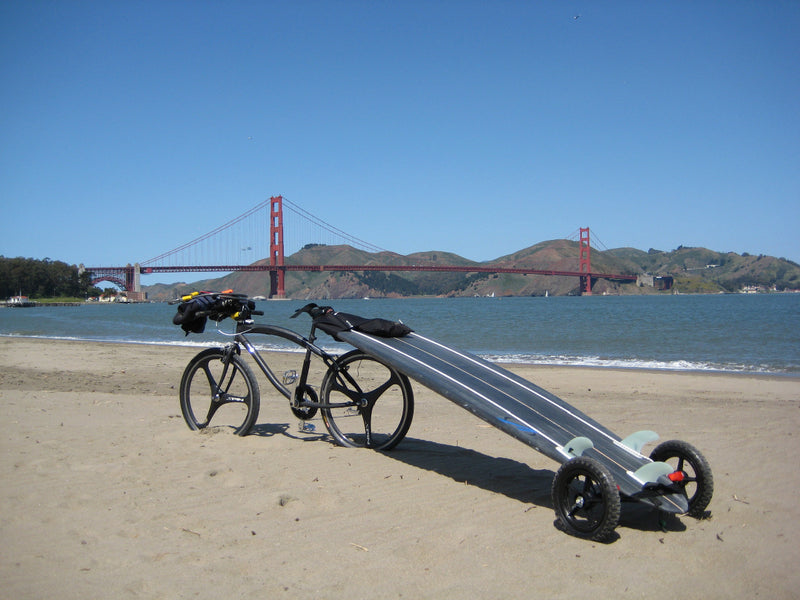 The Mule SUP/Surf bike trailer