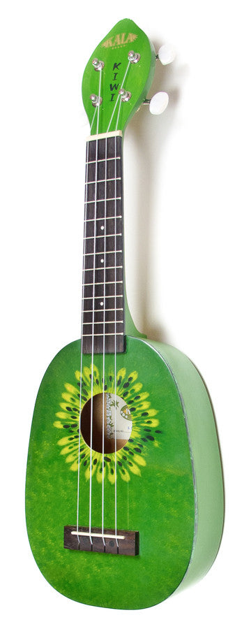 Kala silk-screen kiwi ukulele