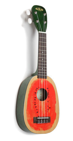 Kala Silk-Screen Watermelon Ukulele