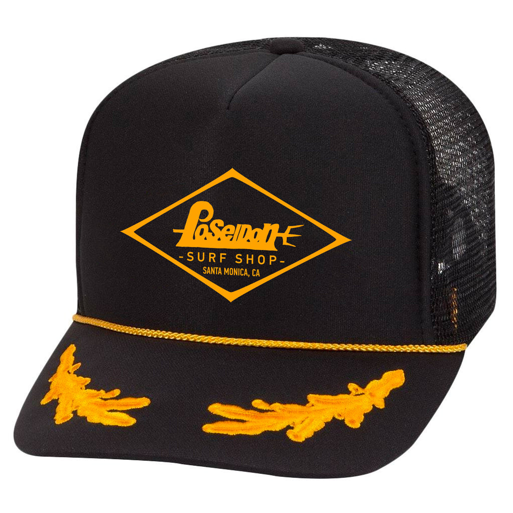 Poseidon Diamond Logo Hat